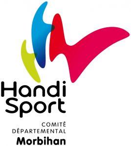 Logo du Comité Départemental Handisport du Morbihan