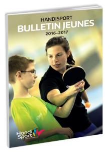 Couverture du magazine Bulletin Jeunes 2016/2017